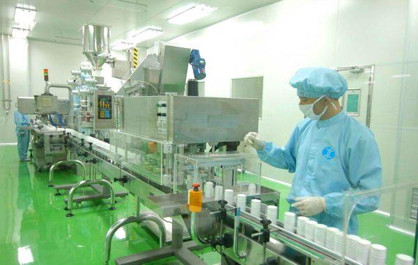 Máy chiết xuất thảo dược được sử dụng trong ngành sản xuất Dược Phẩm